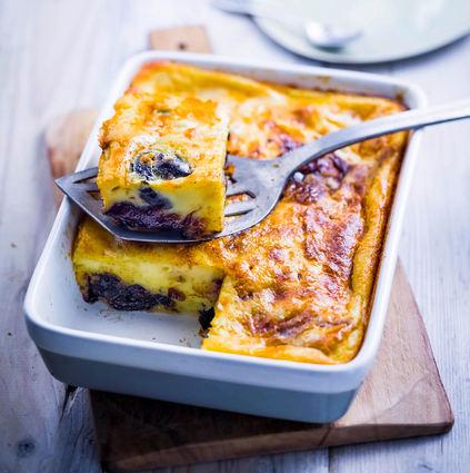 Recette de far breton à la confiture de prunes
