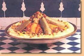 Couscous marocain pour 6 personnes