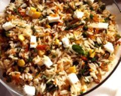Recette salade de riz à la menthe