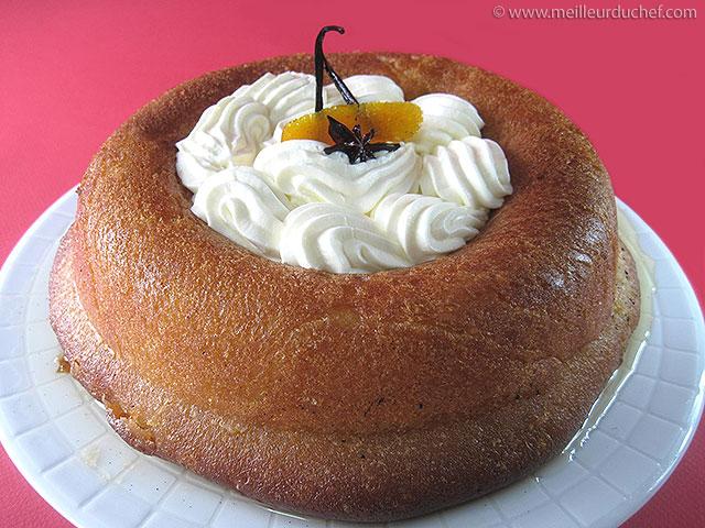 Savarin chantilly  notre recette avec photos  meilleurduchef.com