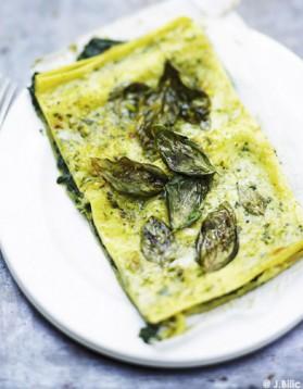 Lasagnes végétariennes ricotta et basilic pour 6 personnes ...