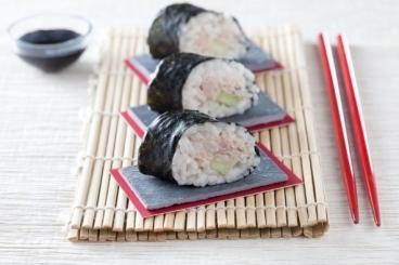 Recette de maki thon-concombre facile et rapide