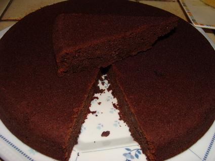 Recette de fondant au chocolat à la compote de pommes (sans ...
