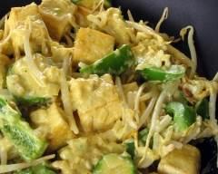 Recette tofu poêlé à l'indienne