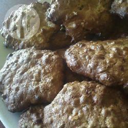 Recette cookies aux flocons d'avoine, raisins, noisettes et chocolat ...