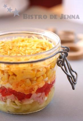 Recette de salade de maïs et ananas