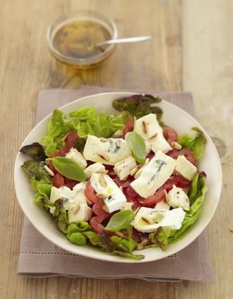 Recette de salade bressane au bresse bleu