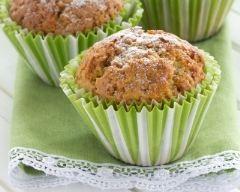 Recette muffins aux pommes et pistaches