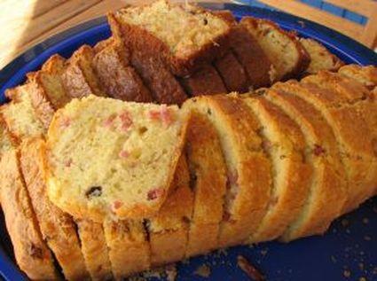 Recette de cake au jambon et aux champignons