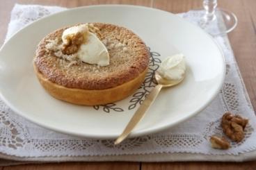 Recette de tarte aux noix facile et rapide