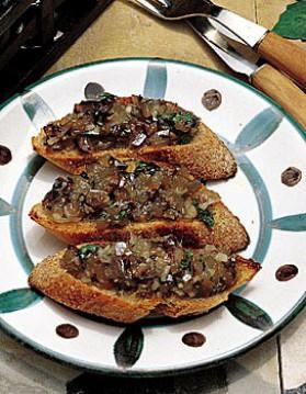 Tartine grillée à l'anchois frais pour 4 personnes