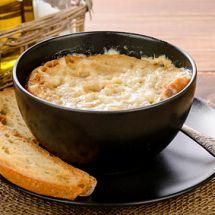 Soupe oignon surprise