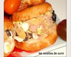 Recette fricassés tunisiens