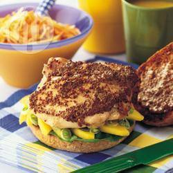 Recette sandwichs de poulet à la mangue – toutes les recettes ...