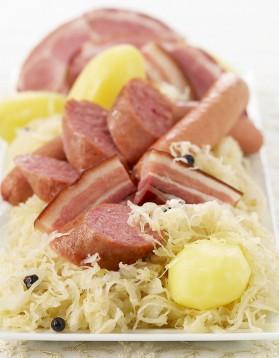 Salade de choucroute d'alsace pour 6 personnes