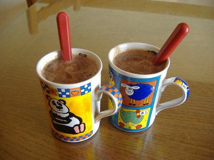 Recette de chocolat chaud express
