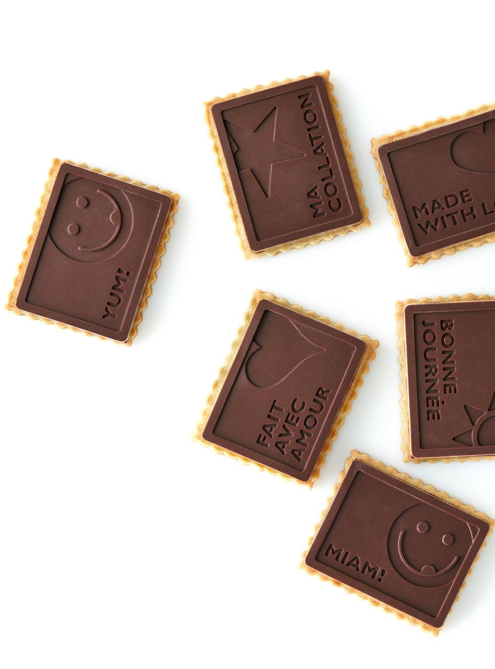 Petits beurre couverts de chocolat | ricardo