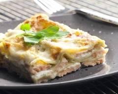 Recette lasagnes au saumon et poireaux à la sauce mascarpone