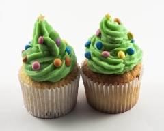 Recette cupcake sapin de noël