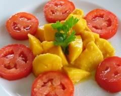 Recette salade de tomates et mangues