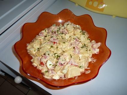 Recette de salade piémontaise simple et rapide