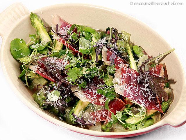 Ragoût de légumes printaniers au jambon des aldudes  recette de ...