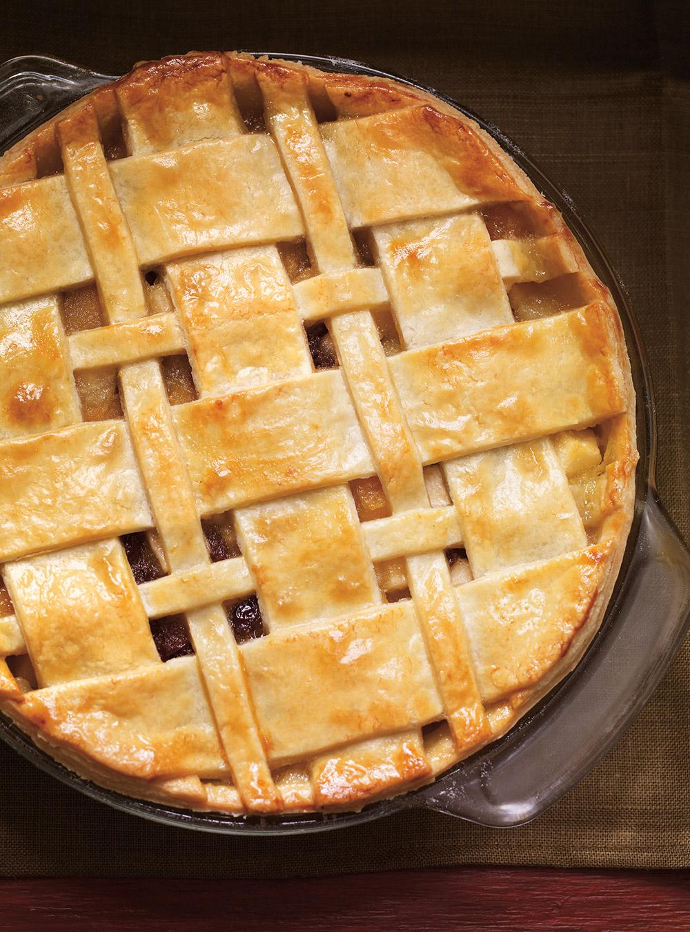 Tarte aux pommes, à la courge et aux poires | ricardo