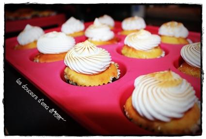 Recette de cupcakes citron meringué