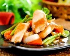 Recette wok de poulet épicé