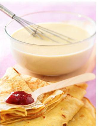 Recette de pâte à crêpes sucrées ou salées