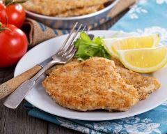 Recette escalopes de poulet panées
