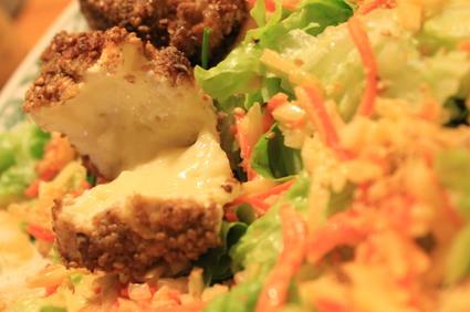 Recette de camembert pané