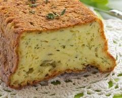 Recette cake au chèvre, thym et miel
