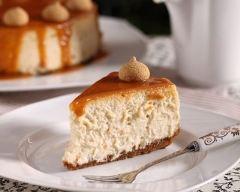 Recette cheesecake sauce caramel au beurre salé
