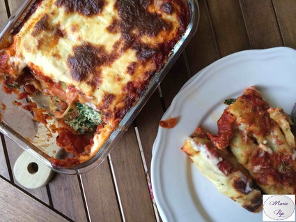 Recette cannelloni épinards-ricotta (cannelloni)