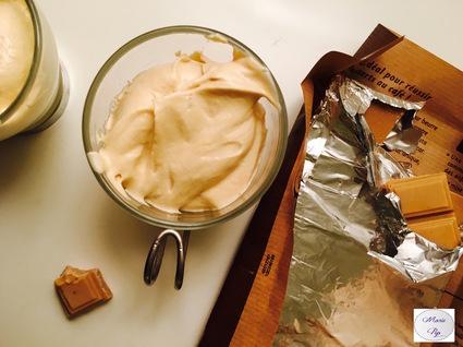 Recette mousse au chocolat et café (flan, mousse)
