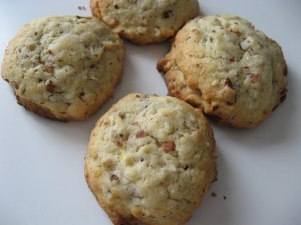 Recette de cookies amandes-citron