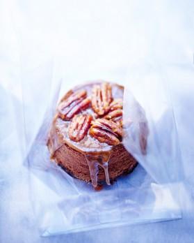 Brownies aux noix de pécan et caramel pour 6 personnes