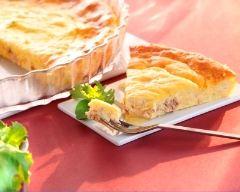 Recette quiche sans pâte au thon et à la crème