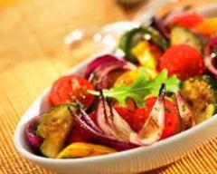 Recette bohémienne d'aubergines et courgettes