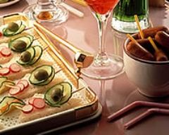 Recette tartines aux radis et au concombre