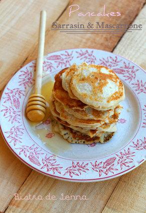 Recette de pancakes sarrasin et mascarpone