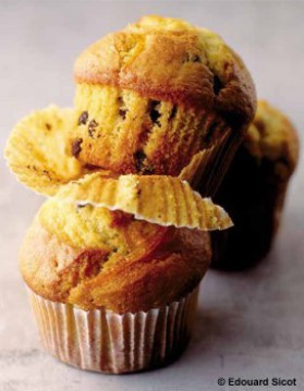 Muffins à l'orange et au chocolat de natacha pour 4 personnes ...