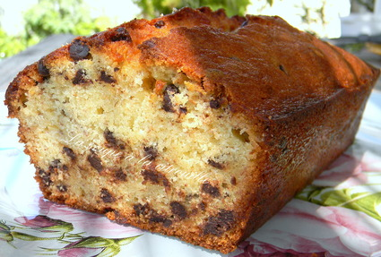 Recette de cake à la banane  banana loaf