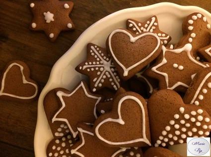 Recette de jolis biscuits de pain d'épices
