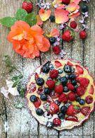 Recette de ricotta gratinée aux fruits rouges