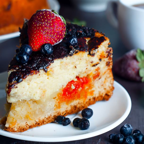 Recette cheesecake aux fruits printaniers