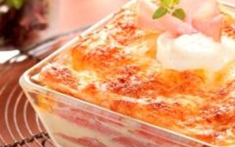 Recette lasagnes au chèvre et au bacon économique et simple ...