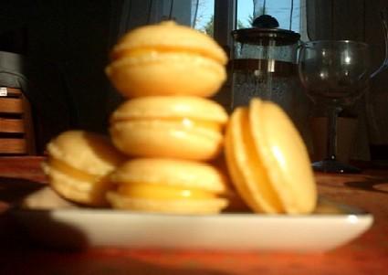 Macarons citron