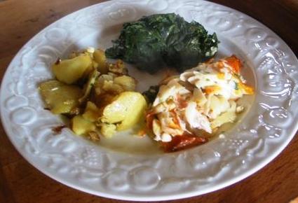 Recette de haddock et pommes de terre sautées